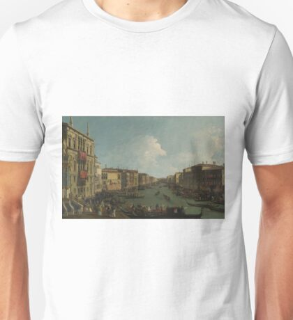 Canaletto - Venice - A Regatta On The Grand Canal Unisex T-Shirt