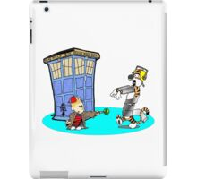 Calvin and Hobbes Doctor Who iPad Case/Skin