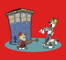 Calvin and Hobbes Doctor Who Kids Clothes