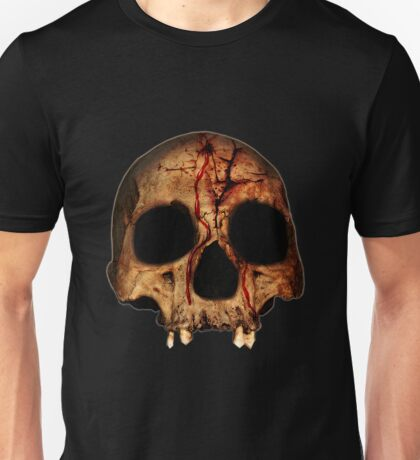 Bloody Skull Unisex T-Shirt