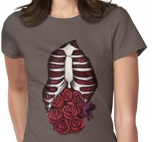 Rose Guts Womens Fitted T-Shirt