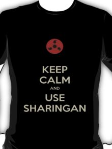 Use sharingan T-Shirt
