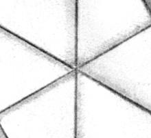 Paper Star Sticker