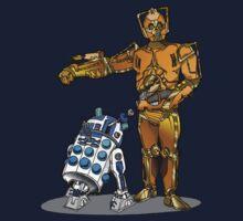 R2-Dalek2 & Cyber3PO Kids Clothes