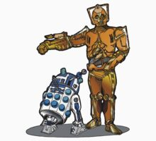 R2-Dalek2 & Cyber3PO Kids Clothes