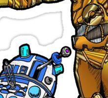 R2-Dalek2 & Cyber3PO Sticker