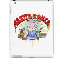 Master Baker iPad Case/Skin