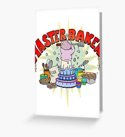 Master Baker Greeting Card