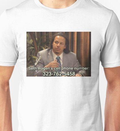 SETH ROGEN ERIC ANDRE SHOW Unisex T-Shirt