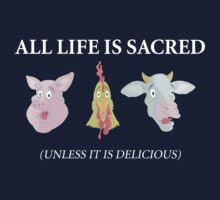 All Life Is Sacred Kids Clothes