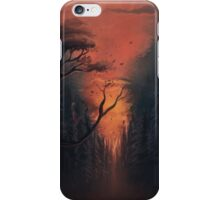 Thru the Forest iPhone Case/Skin