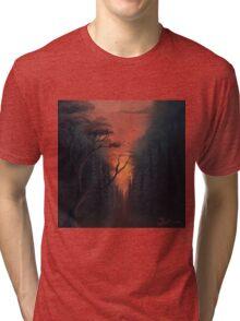 Thru the Forest Tri-blend T-Shirt
