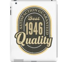 Satisfaction Guaranteed  Best  1946 Quality iPad Case/Skin