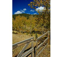 Gateway to the High Country Photographic Print