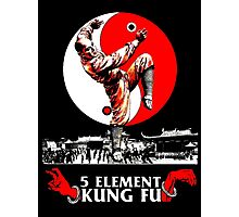 5 Element Kung Fu. Photographic Print