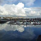 Newlyn Harbour 1 by George Crawford
