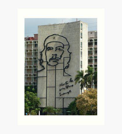 Che Guevara Sculpture Art Print
