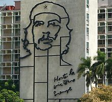Che Guevara Sculpture by brummieboy