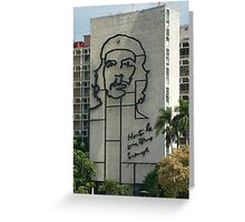 Che Guevara Sculpture Greeting Card