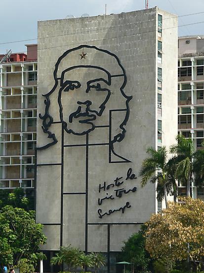 Che Guevara Sculpture by brummieboy