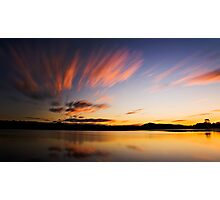 Noosa Lakes Sunset Photographic Print