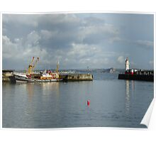 Newlyn Harbour 2 Poster