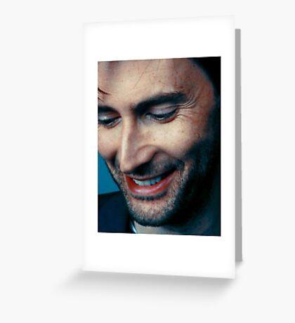 smiling tennant ヾ(。◕ฺ∀◕ฺ)ノ Greeting Card