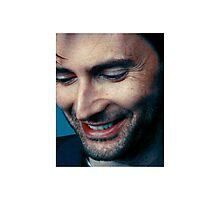 smiling tennant ヾ(。◕ฺ∀◕ฺ)ノ Photographic Print