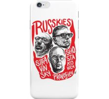 Ruskies-Russian Composerss iPhone Case/Skin