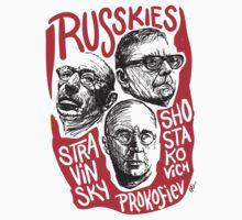 Ruskies-Russian Composerss T-Shirt