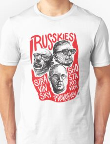 Ruskies-Russian Composerss T-Shirt
