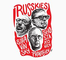 Ruskies-Russian Composerss Unisex T-Shirt