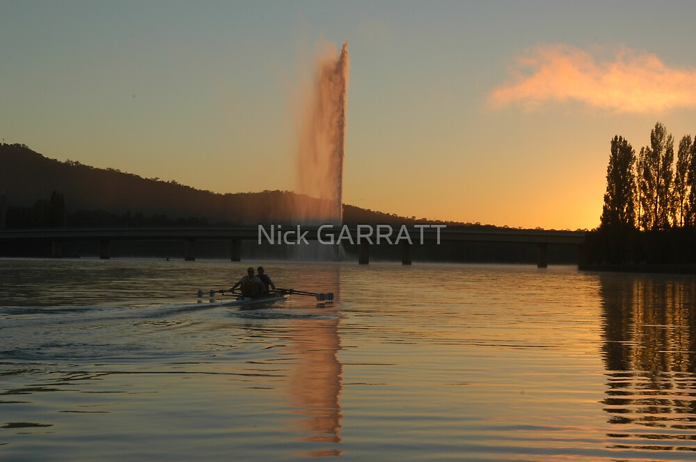 Lake Burley - Griffin, Canberra by Nick GARRATT
