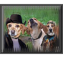 Dogs Are People Too! Photographic Print