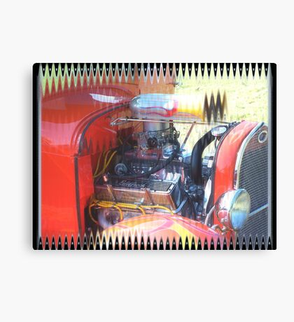 Hot Rod Ford Canvas Print