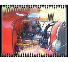 Hot Rod Ford Photographic Print