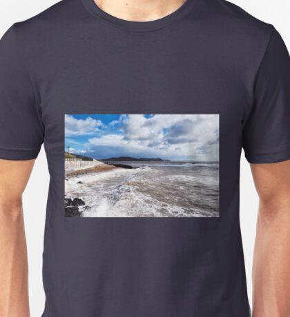 Church Beach - Lyme Regis Unisex T-Shirt