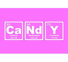 Candy - Periodic Table Photographic Print