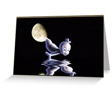 Casper arrives Greeting Card