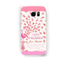 Paisley Peacock Pride and Prejudice: Girly Samsung Galaxy Case/Skin