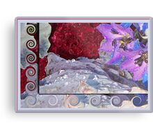 Glistening Floral Array Metal Print