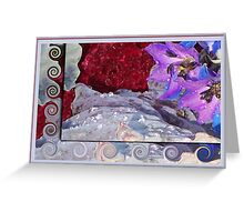 Glistening Floral Array Greeting Card