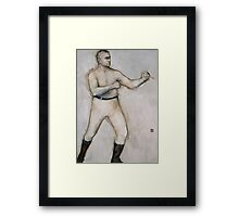 The Boxer: John L. Sullivan Framed Print