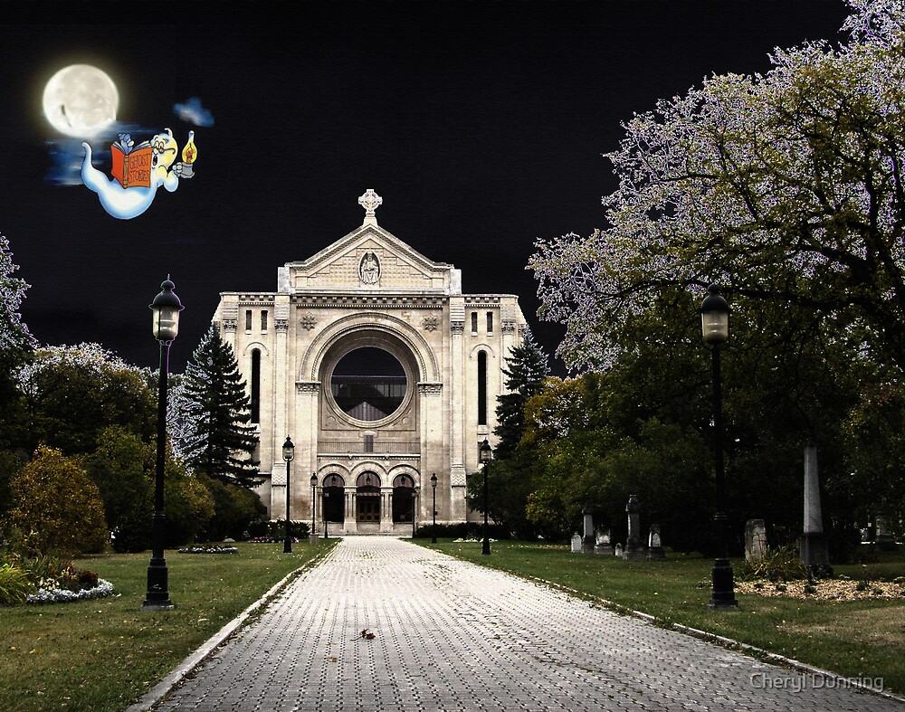haunted basilica by Cheryl Dunning