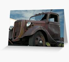 Retired Trailer Queen Greeting Card