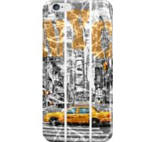 The New York Taxi iPhone Case/Skin