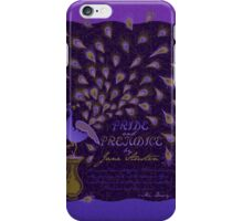 Paisley Peacock Pride and Prejudice: Royal iPhone Case/Skin