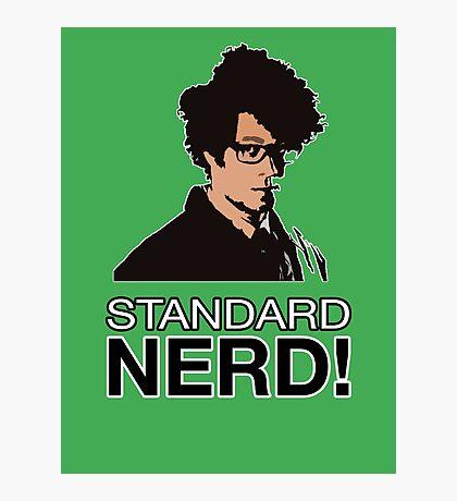 MOSS - STANDARD NERD! Photographic Print
