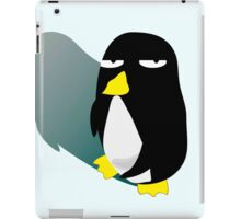 Crazy Eyes Penguin iPad Case/Skin