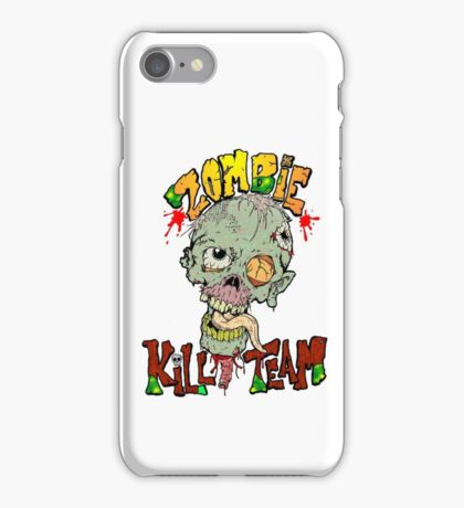 Zombie Kill Team iPhone Case/Skin